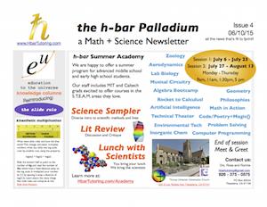 Hbar Newsletter June 2015